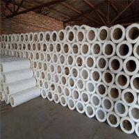 河间市阻燃玻璃棉管最新报价保温管道岩棉管6公分
