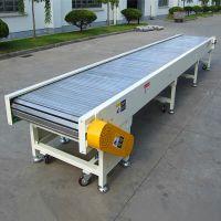 链板爬坡输送机多用途 家电生产线链板输送机