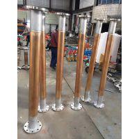 厂家直销FPV法兰型式氧气管道铸钢法兰型式氧气管道阻火器