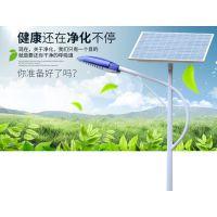 新农村10米100w太阳能路灯超亮持久LED路灯