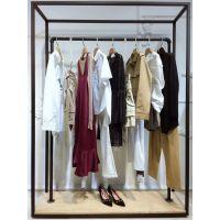 TryMe女装品牌折扣服装加盟连锁北京品牌折扣女装专柜中式猪皮雪纺衫