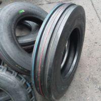 7.50-16/7.50-18全新拖拉机前轮导向轮胎 F-2两道沟农用轮胎价格