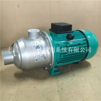 威乐水泵MHI202N-1/10/E/1-220大户型全自动增压泵加压泵WILO不锈钢卧式多级离心泵
