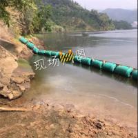 升降式拦污浮排河道分支口垃圾拦截装置