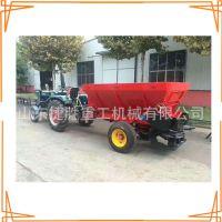 生产 鸡粪肥料抛撒机 发酵粪肥撒粪车 粪肥牵引施肥机械 厂家