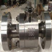 高压304不锈钢球阀Q41F-100P DN15 不锈钢浮动球球阀 Q341F 永嘉孜博阀门