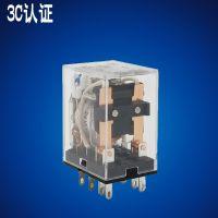 3C认证HH52P小型电磁继电器MY2N-JAC220/DC24/12V3A银点