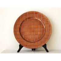 大格子盘塑料餐具餐垫餐盘创意装饰赣州厂家一手货源YF-60866