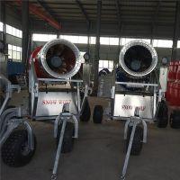 炮式造雪机厂家实力雄厚售后完善大排量出雪造雪机价格优