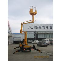 GKT苏产电动车载升降平台 亿翔液压折臂式高空作业平台