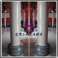供应花岗石圆柱 芝麻白圆柱可定做各尺寸