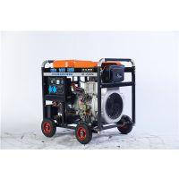 柴油移动式250A发电电焊机