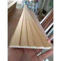 广东全屋同色免漆实木线条配套PVC包覆生态板颜色一致