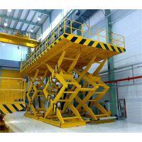 江州区厂家直销固定式升降台 货运剪式升降台 剪叉大吨位货梯启运