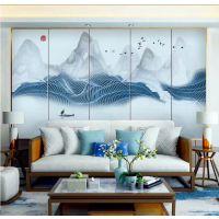 硬包电视背景墙沙发床头背景墙额8D壁画定做厂家直销只卖