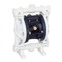 上海映程QBY3 QBY QBK 隔膜泵 PP 工程塑料 气动隔膜泵 DN15-125