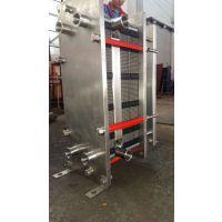 耐腐蚀板式冷却器 冷却电镀液|淬火液专用水冷板式换热器生产厂家