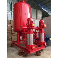 上海战泉消防泵选型 XBD12/6.9消防栓泵稳压设备泵组