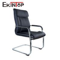厂家直销真皮铁制弓架办公椅 会议室弓形椅 家用电脑椅