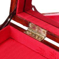 红木首饰盒结婚庆大号珠宝箱 实木质中式复古手饰品收纳盒子带锁