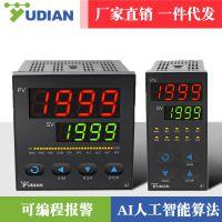厦门宇电YUDIAN高精度PID温度控制器智能温控仪表数显表AI-208L