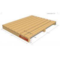 深圳木卡板的性能特点 烟薰 周转木卡板