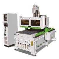 厂家供应12把刀圆盘自动换刀数控加工中心 板式家具生产设备 数控木工开料机