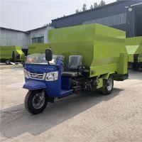 按需定制电动撒料车 多功能混合饲料喂料机 中泰机械