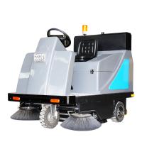 山东盛世济南市鼎洁盛世驾驶扫地机工厂车间使用地面无杂物