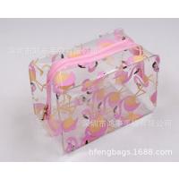 热卖丝印图案化妆包可爱型 韩版pvc定制化妆包防水洗漱收纳包现货