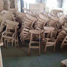 进口白橡实木餐椅厂家 韩式餐椅 饭店餐椅系列 咖啡休闲餐椅子