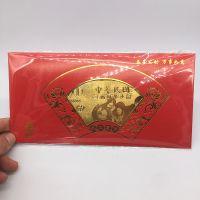 台灣金箔钞票鸡年新年利是封红包台湾台幣壹仟圆金钞促销活动礼品