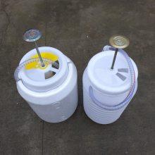 济宁35L冲水桶旱改厕配套使用冲厕器冲厕桶脚踏式压力桶辰安厂家直销PP