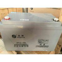 圣阳铅酸免维护蓄电池12v100ah 圣阳SP12-100 UPS电源专用电池