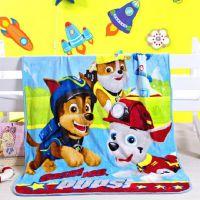 夏季卡通法兰绒珊瑚绒儿童小毛毯办公室午睡单人学生空调毯子薄款