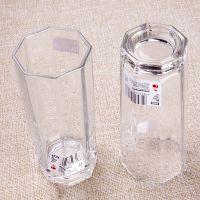 厂家直销 玻璃水杯 饮料杯 八角杯 啤酒杯 四方杯 KTV酒吧玻璃杯