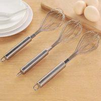 批发手动打蛋器不锈钢搅拌器家用迷你烘焙工具搅蛋器奶油打发器