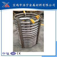 厂家生产纯钛盘管、反应釜内盘管、TA10钛合金盘管 超长质保