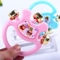 新生婴儿益智小铃铛音乐床铃0-1岁宝宝儿童玩具批发3-6个月手摇铃