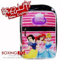 数码彩印防水光胶外贸迪士尼公主 书包 Disney双肩背包