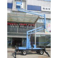 供应12米曲臂式电瓶升降机 车载式升降机 电动高空台
