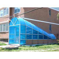 临河阳光板报价厂家供货耐力板雨棚效果图