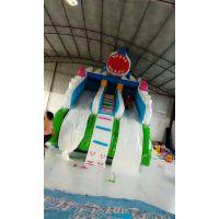 温州藏龙游乐游乐场充气水滑梯供应