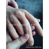 硅胶假肢手 硅胶假手 人体仿真装饰手 手模型可订制