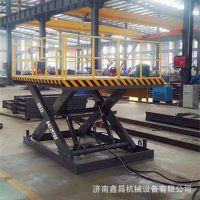 厂家定制电动液压货物升降平台工作台升降货梯固定剪叉式升降机