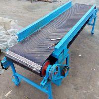 复合肥装车皮带输送机 家用6米长皮带输送机 220V麦子装车皮带机