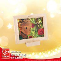 Hape小王子相框拼图王子与玫瑰花玩具儿童宝宝益智智力礼物