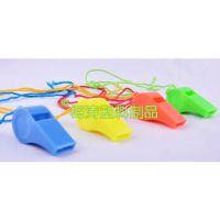 穿绳儿童裁判定logo玩具赠送礼品超声波无胶水环保塑料文体小口哨