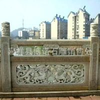 大型石雕厂 供应天然 大理石 石雕栏杆 栏板 图案随客户要求