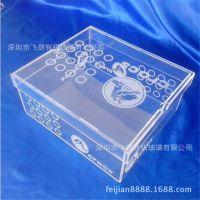 制作亚克力高档鞋盒 鞋子终端包装盒 透明亚克力鞋子收纳防尘盒